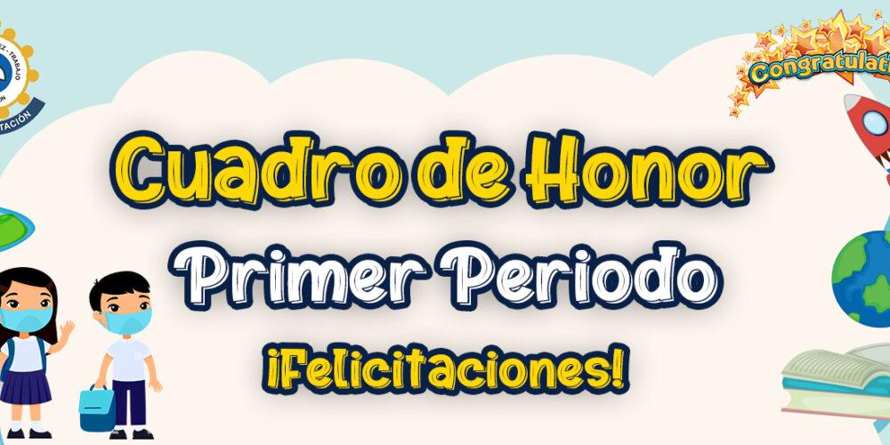 CUADRO DE HONOR I/2021